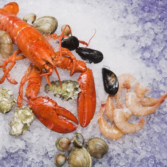 Visitors can find seafood restaurants in Southlake and Colleyville, Texas.