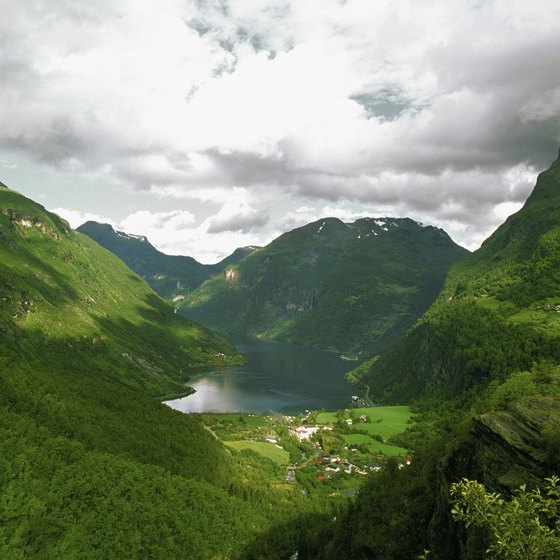 Norway's scenic fjords attract outdoor lovers and other visitors.