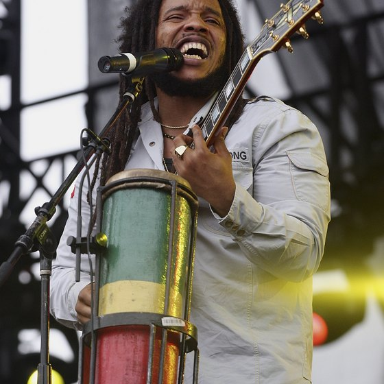 The music of Jamaica exerts a powerful influence on world music.