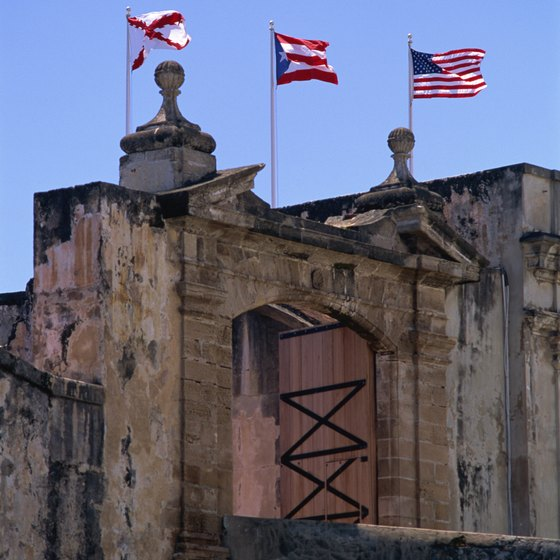 A U.S. territory, Puerto Rico was once home to many European settlers.