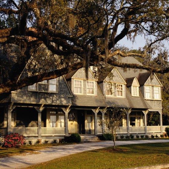 Pack comfortable shoes for walking around the historic homes of Jekyll Island.