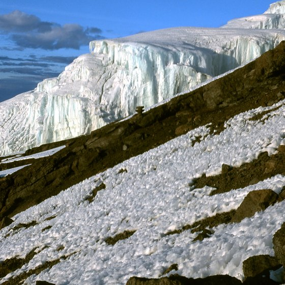 Africa's highest peak has a snow-capped summit.