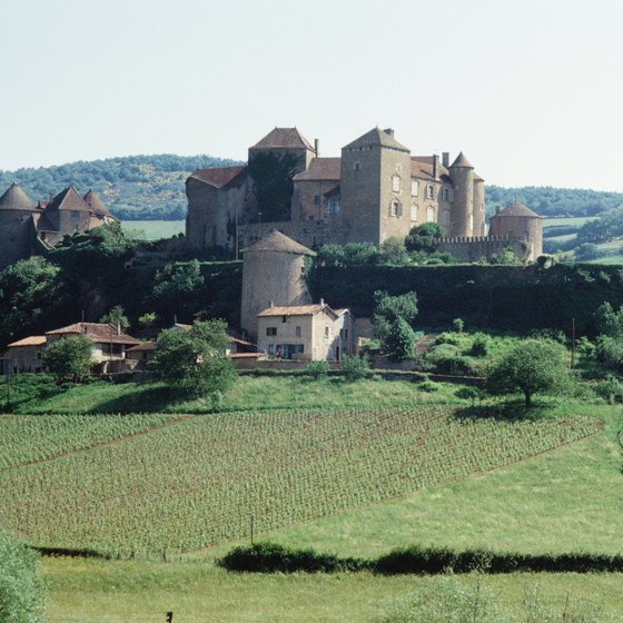 Scenery, wine and history attract visitors to Burgundy.