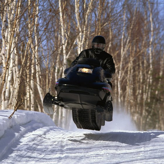 Silver Bay offers groomed trails.