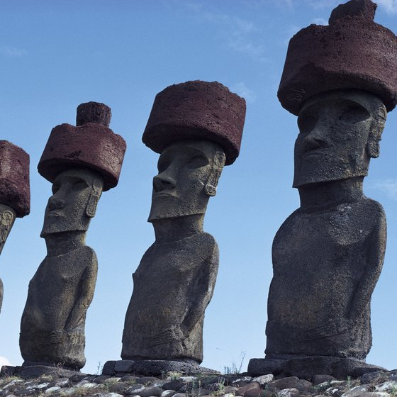 The Easter Island stone heads are perhaps Chile's most popular tourist attraction.