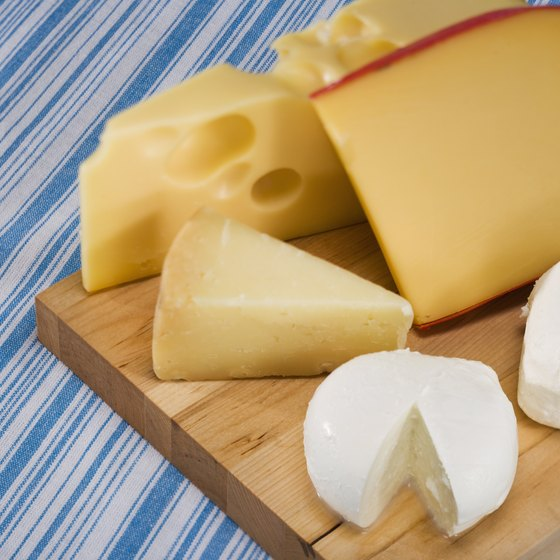 Cheese, bread and rich desserts are staples of Swiss cuisine.