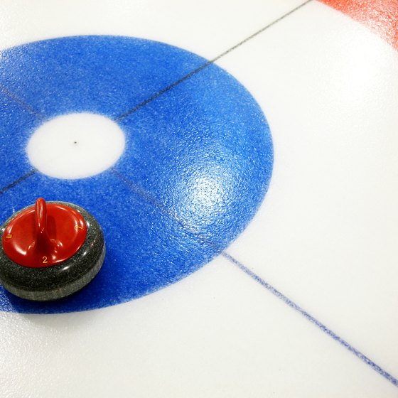 Ohio's curling venues provide equipment needed for curling, such as brooms and stones.
