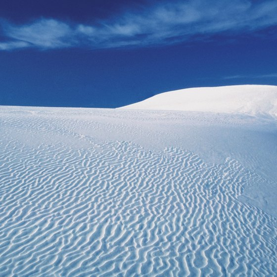White Sands National Monument in southeastern New Mexico is renowned for its majesty.