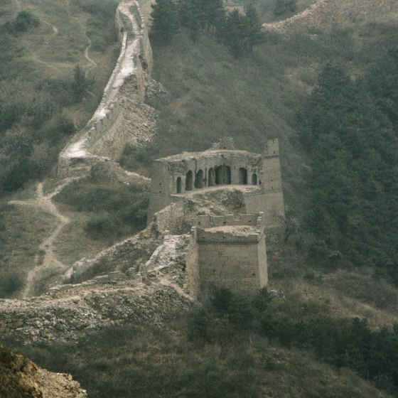 The Great Wall is China's main attraction.