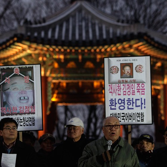 The death of Kim Jong-il inspired massive grief among the people of North Korea