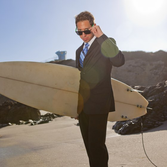 Singles can learn to surf on a September vacation in California.