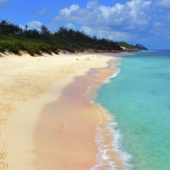 For couples in search of a beach, both Bermuda and Aruba have plenty of options.