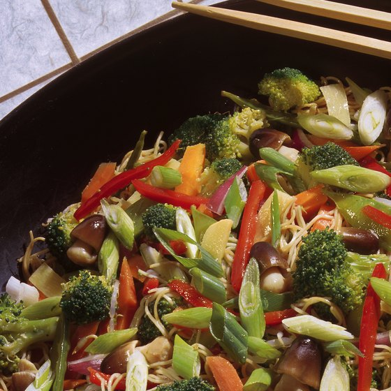 Chinese stir-fry is a popular dish among American diners.