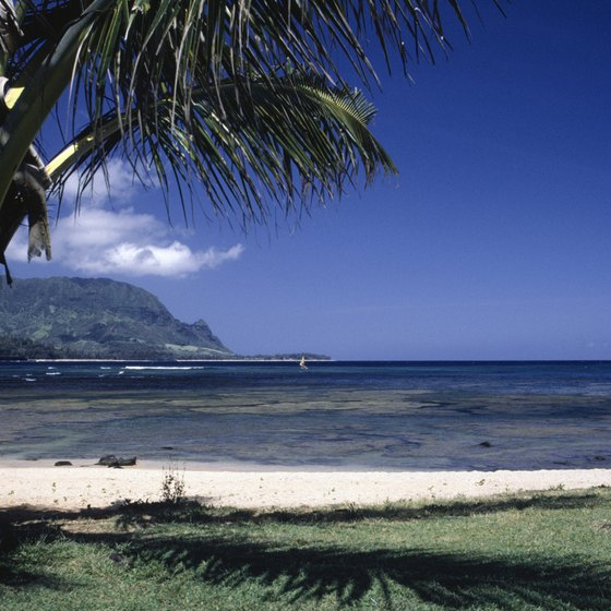 Looking toward Tunnels Beach from Hanalei.