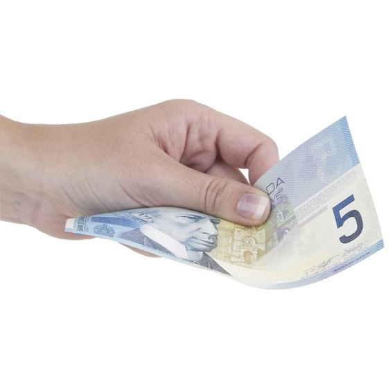 The smallest bill in Canada is the C$5 bill.