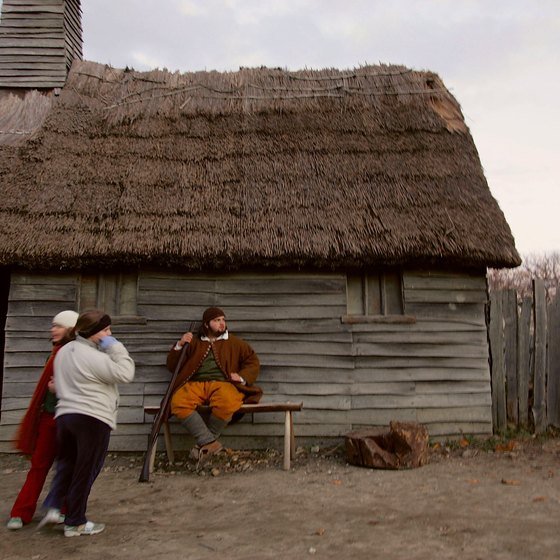 Explore the lives of Pilgrims at the Plimoth Plantation.