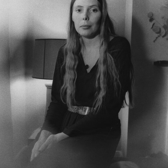 Singer/songwriter Joni Mitchell was a fixture of the 1960s Laurel Canyon scene.