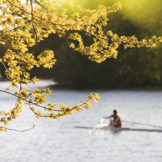 You can still enjoy Boston's outdoor activities in October.