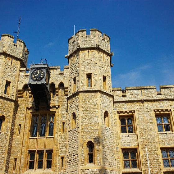 The Tower of London is one of many historic sites in London.