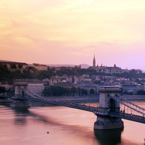 The Danube is one of Europe's major waterways.
