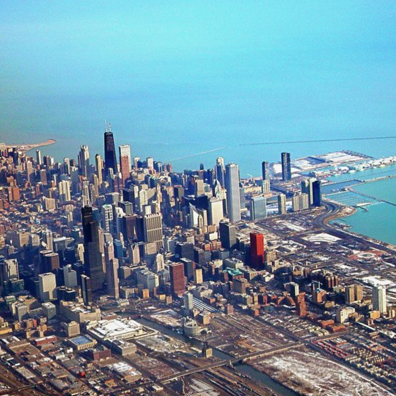 The greater Chicago Metropolitan Area is known as Chicagoland to locals.