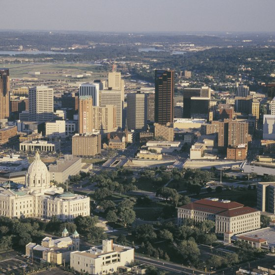 St. Paul is Minnesota's capital and one of its largest cities.