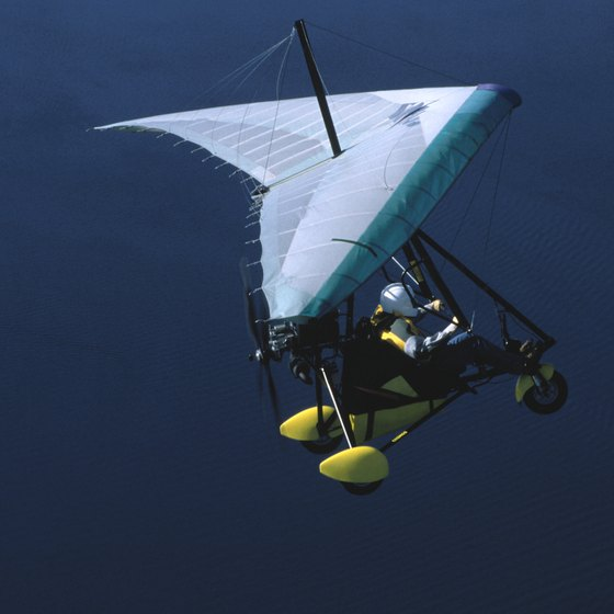 The hang glider is one of many types of glider.