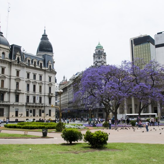 Visit the popular Plaza de Mayo in Buenos Aires, Argentina.