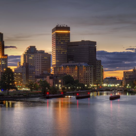 Providence, Rhode Island, was one of the first cities established in the U.S.