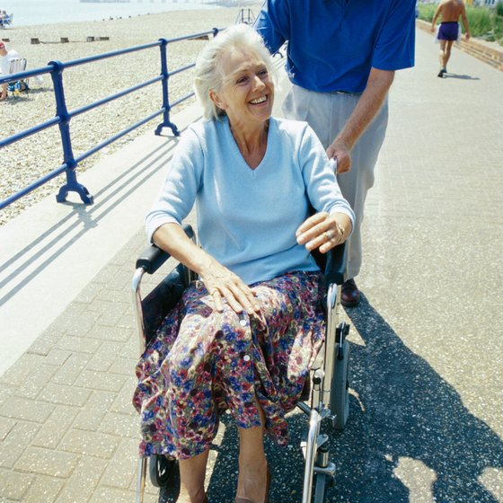 Some Maine beaches have pathways with wheelchair access.