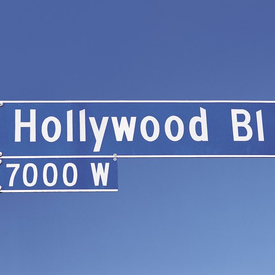Hollywood Boulevard is home to some of Hollywood's most historic establishments.