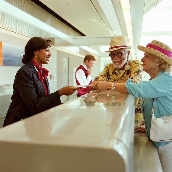 Avoid the ticket counter and print out your boarding pass at home.
