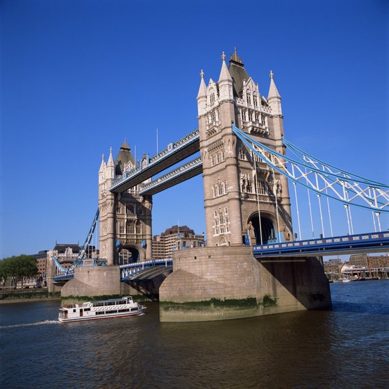 London's iconic Tower Bridge