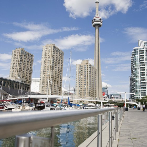 Toronto combines city life with waterside attractions.