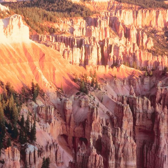 Bryce Canyon National Park showcases unique geologic formations.