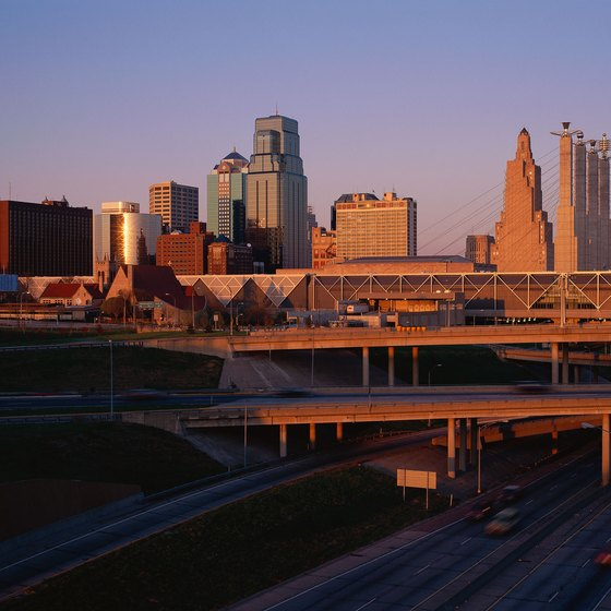 You'll pass through Kansas City on your journey through the state.