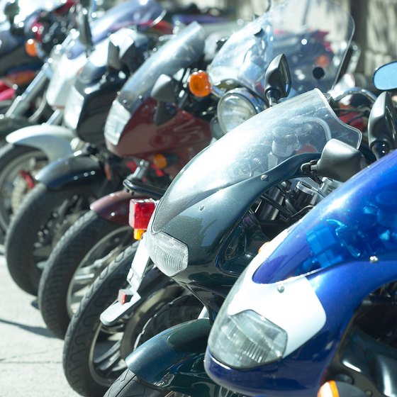 Lawrence County is home to a 4-day motorocycle rally.