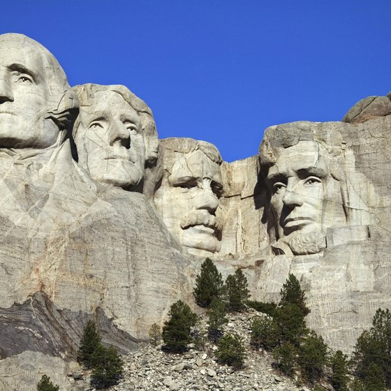 You can't climb Mount Rushmore, but you can get close.