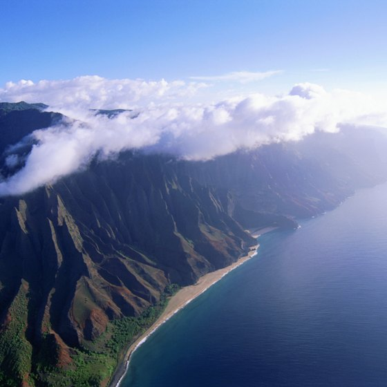 Imagine camping along Kauai's beautiful Na Pali Coast.