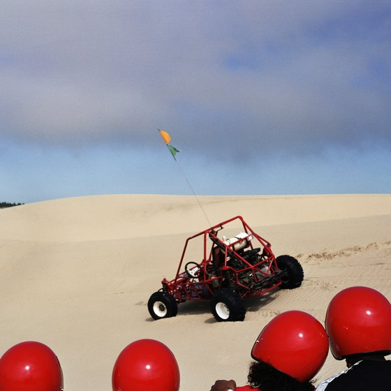 Take your family for a dune-buggy adventure in Silver Lake, Michigan.