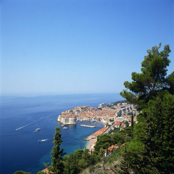 Many Croatian summer cruises stop in Dubrovnik.