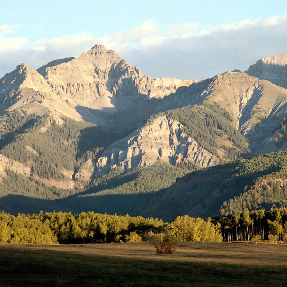 Mount Sneffels, is a challenging peak that draws climbers to the campgrounds near Ridgway.