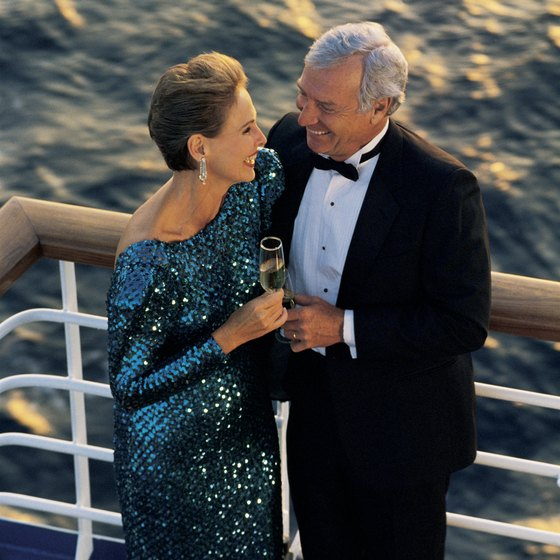 A cruise ship vacation brings out your romantic side.