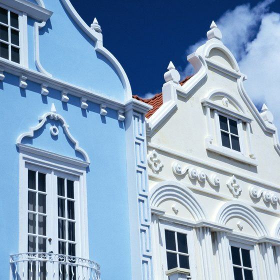 Aruba is known for its ornate Dutch architecture.