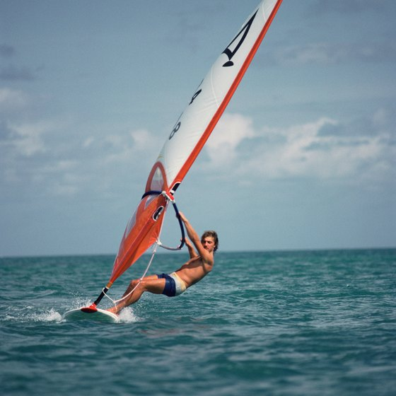 Windsurf in Barbados.