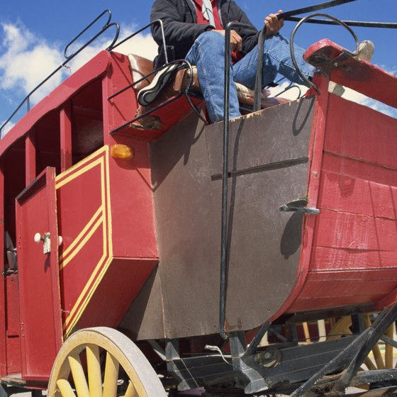 Take a stagecoach ride through historic Placerville, just miles from Pollock Pines, California.