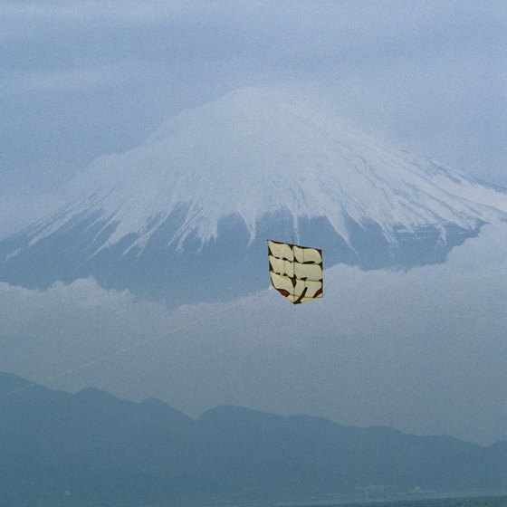 A clear view of Mt. Fuji is difficult to capture.