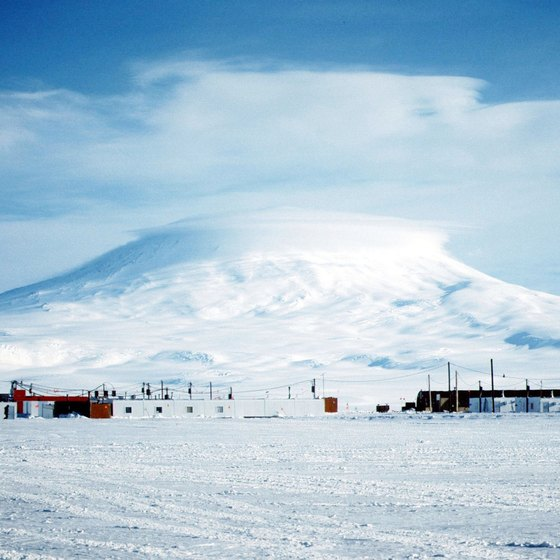 There is little to see at the South Pole aside from natural wonders and the U.S. South Pole Station.