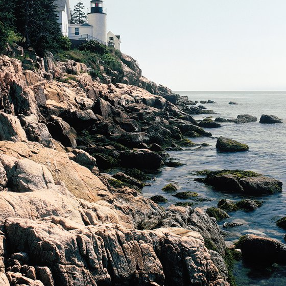 The rocky cliffs of Maine are home to several haunted lighthouses.