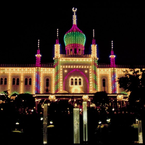 Tivoli Gardens offers families restaurants, live entertainment and 26 rides to enjoy.